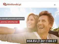 Miniaturka minirandki.pl (Speed dating)