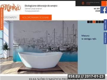 Zrzut strony Fototapety na ściany