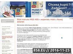 Miniaturka domeny miodmanuka.com