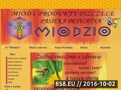 Miniaturka domeny www.miodzio.radom.pl