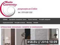 Miniaturka domeny www.miotlaczarownicy.pl