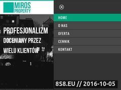 Miniaturka domeny mirosproperty.pl