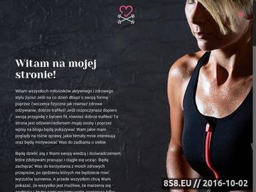 Zrzut strony Miss Healthy Rzeszów