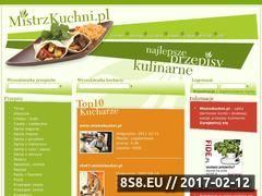Miniaturka domeny mistrzkuchni.pl