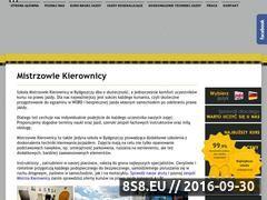 Miniaturka domeny www.mistrzowiekierownicy.pl