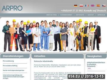 Zrzut strony Polnische Arbeitskrafte