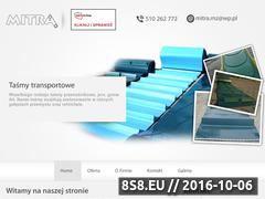 Miniaturka domeny www.mitra-tasmy.pl