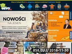 Miniaturka domeny www.mivo.sklep.pl