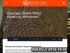 Miniaturka mix-marketing.pl (Instrumenty marketingu internetowego)