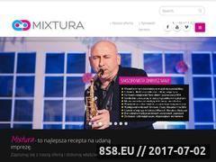 Miniaturka domeny mixtura.com.pl
