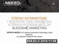Miniaturka domeny mizzo.pl
