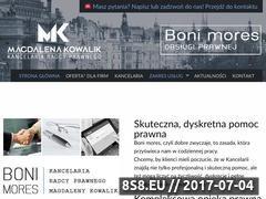 Miniaturka domeny mk-kancelaria.com.pl
