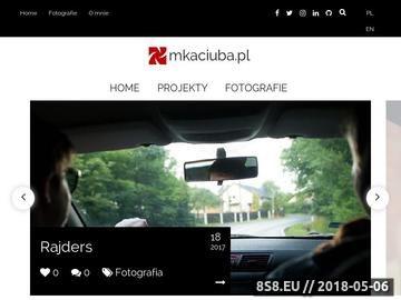 Zrzut strony Fotografia reportażowa i portretowa