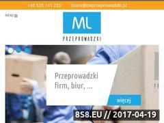 Miniaturka mlprzeprowadzki.pl (Przeprowadzki Warszawa)