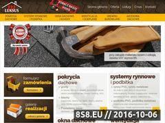 Miniaturka domeny mluksus.pl