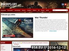 Miniaturka www.mmorpg-gry.pl (Gry MMORPG)