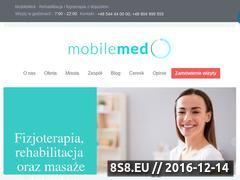 Miniaturka www.mobilemed.pl (Profesjonalne masaże)