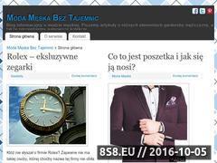 Miniaturka domeny www.moda-meska.info