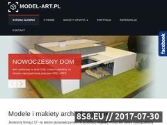 Miniaturka domeny www.model-art.pl