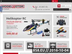 Miniaturka domeny www.modelmotor.pl
