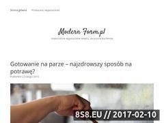 Miniaturka domeny www.modernform.pl