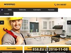 Miniaturka domeny www.moderno-studio.pl