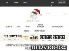 Miniaturka domeny modernsilver.eu