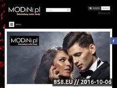 Miniaturka domeny www.modini.pl