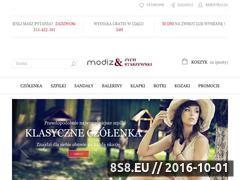Miniaturka modiz.pl (Buty damskie skórzane - sklep internetowy)