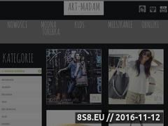 Miniaturka domeny modna-torebka.art-madam.pl