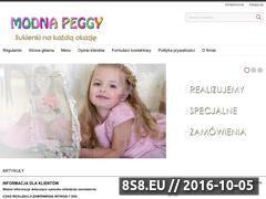 Miniaturka domeny www.modnapeggy.pl