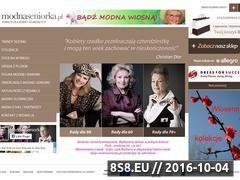 Miniaturka domeny modnaseniorka.pl