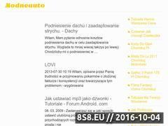 Miniaturka domeny modneauto.pl