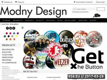 Zrzut strony Kolczyki, przypinki, naszyjniki - Modny Design
