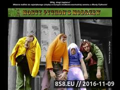 Miniaturka modrzew.kfubik.pl (Polska strona o Monty Pythonie - Monty Python's Modrzew)