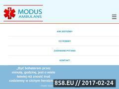 Miniaturka domeny modusambulans.pl