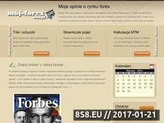 Miniaturka domeny www.moj-forex.edu.pl