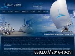 Miniaturka www.moj-rejs.pl (Oferujemy czarter jachtów na Mazurach)