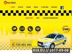 Miniaturka mojataxi24.pl (Moja taxi Białystok)