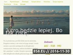Miniaturka www.mojaterapia.com.pl (Psychoterapia i terapia dzieci, młodzieży i dorosłych)