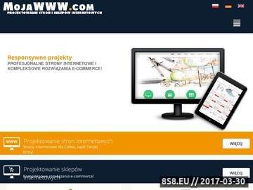 Zrzut strony Projektowanie stron i sklepów internetowych oraz pozycjonowanie stron
