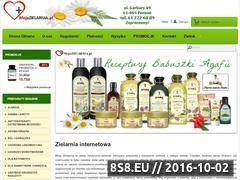 Miniaturka mojazielarnia.pl (Zioła i suplementy - biobran, czystek, goji, alveo)