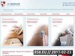 Miniaturka www.moje-pogotowie-zamkowe.pl (Pogotowie ślusarskie)