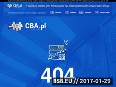 Miniaturka domeny www.mojefundusze.cba.pl