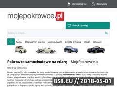 Miniaturka mojepokrowce.pl (Pokrowce ochronne na fotele samochodowe)