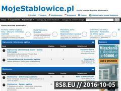 Miniaturka mojestablowice.pl (Wrocław Stabłowice - wiadomości i dyskusje)