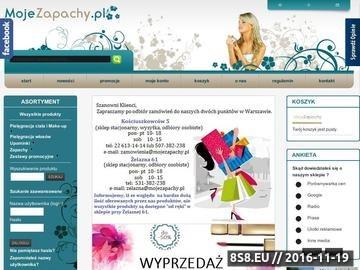 Zrzut strony Perfumy hurt - Warszawa