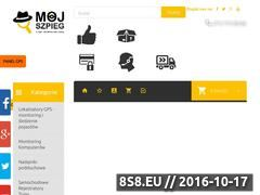 Miniaturka domeny www.mojszpieg.pl
