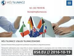 Miniaturka domeny www.mojtlumacz.com.pl