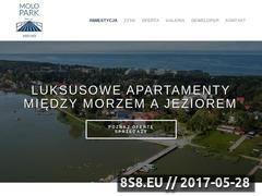 Miniaturka www.molopark.pl (Apartamenty na sprzedaż)